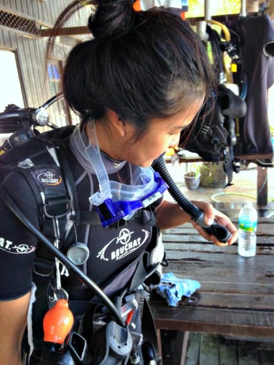 Diving Prep