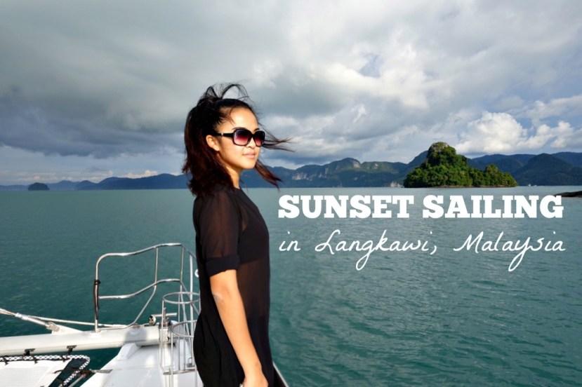 Sunset Sailing In Langkawi Malaysia She Walks The World