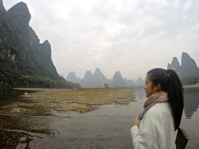 Yangshuo's Li River, Guangxi, China.