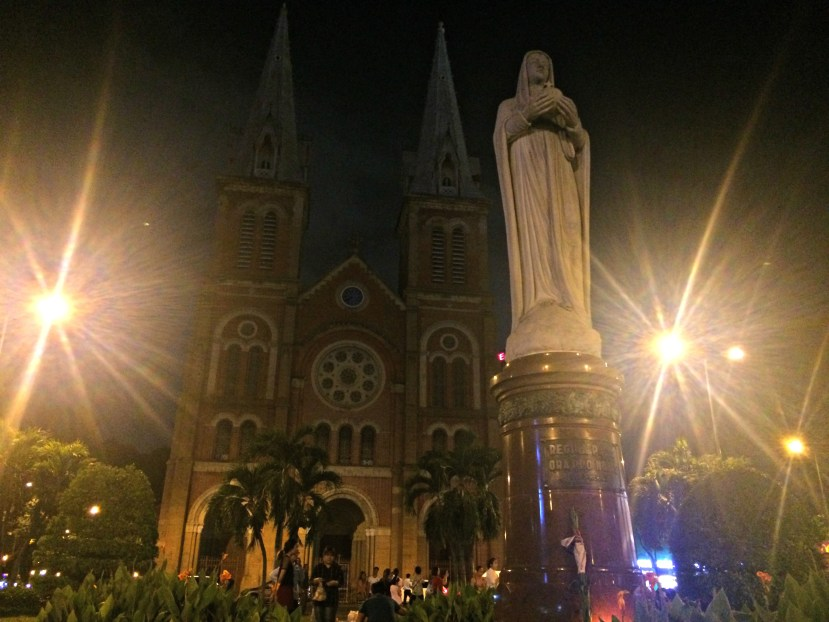 The Notre Dam Cathedral, Saigon