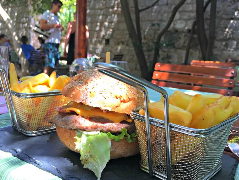 Lunch in Lokrum