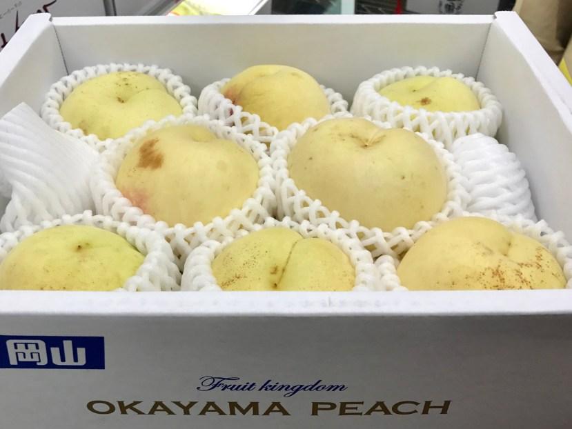 Okayama White Peach