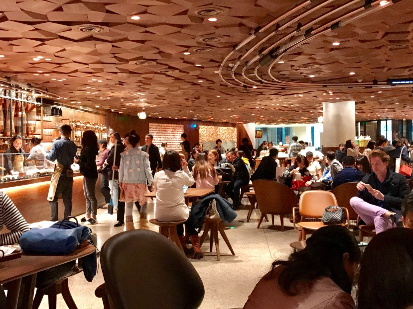 Starbucks Reserve Roastery Shanghai