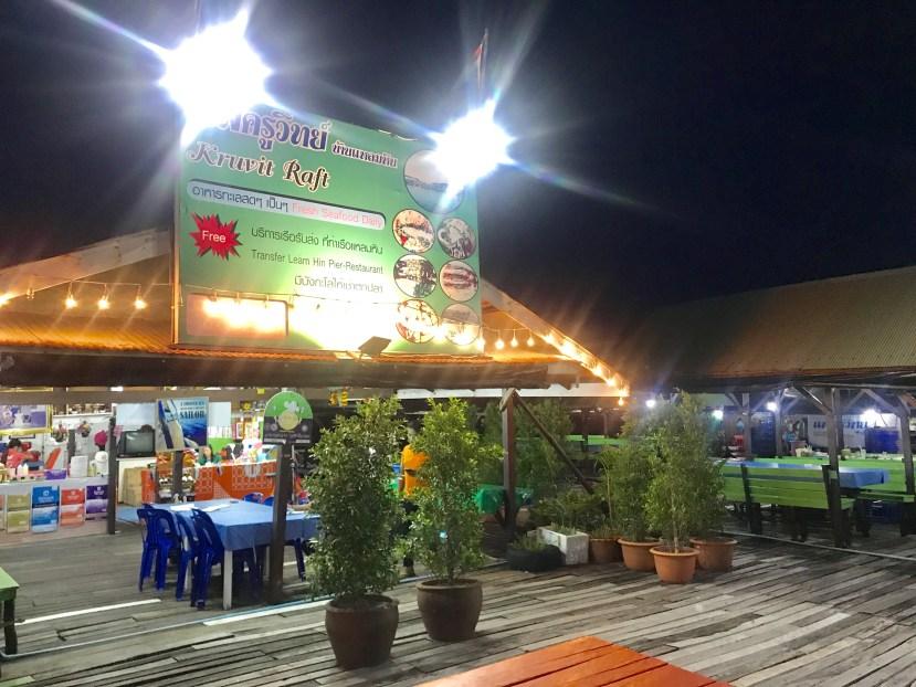 Kruvit Raft Seafood Restaurant