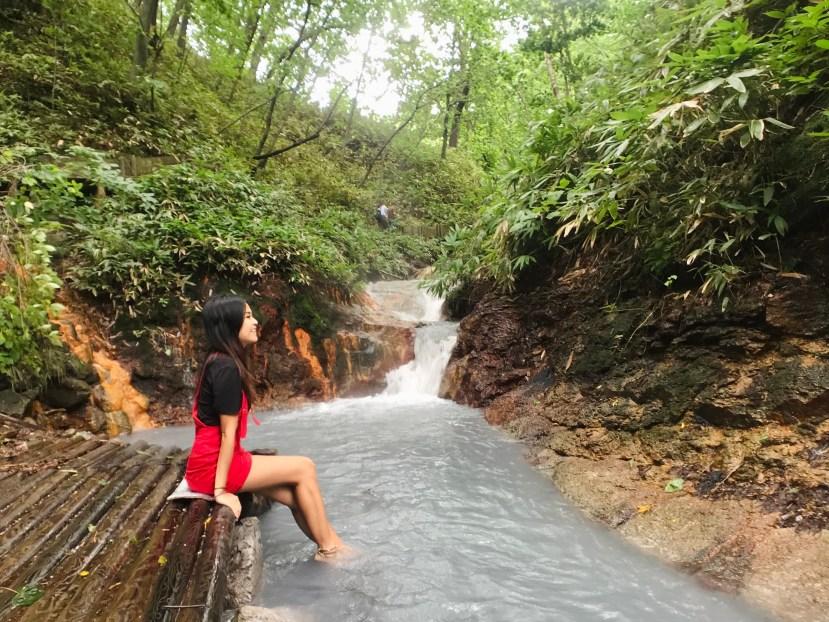 Oyunumagawa Foot Bath