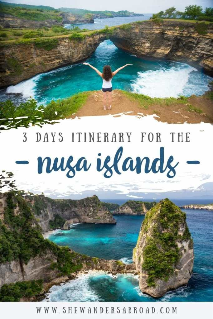 The perfect Nusa islands itinerary for 3 days
