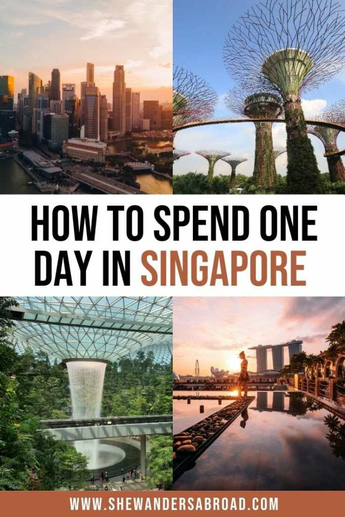 The Perfect Itinerary for Spending 1 Day in Singapore