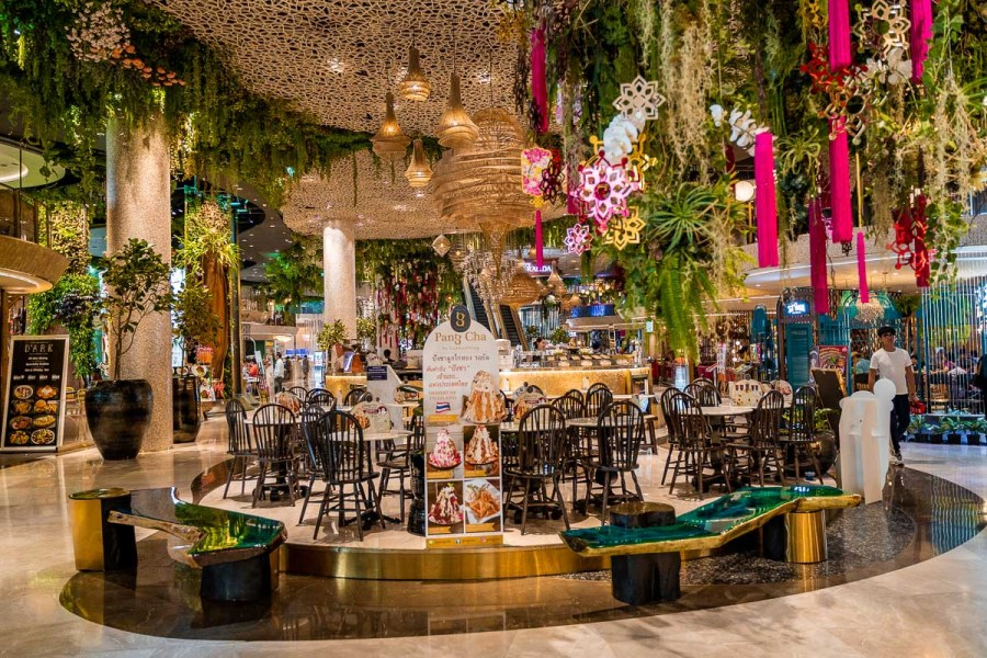 Restaurants in the ICONSIAM in Bangkok