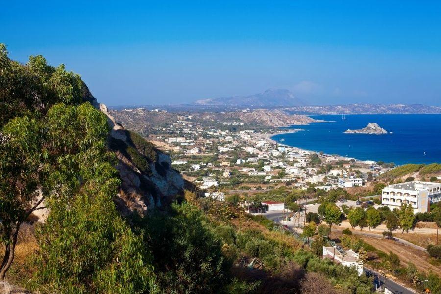Kamari Bay in Kos, Greece