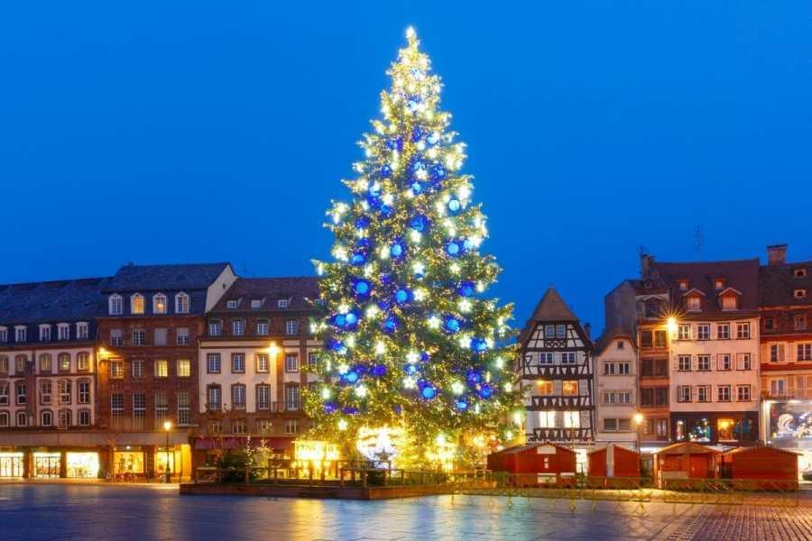 Christmas tree in Strasbourg, France