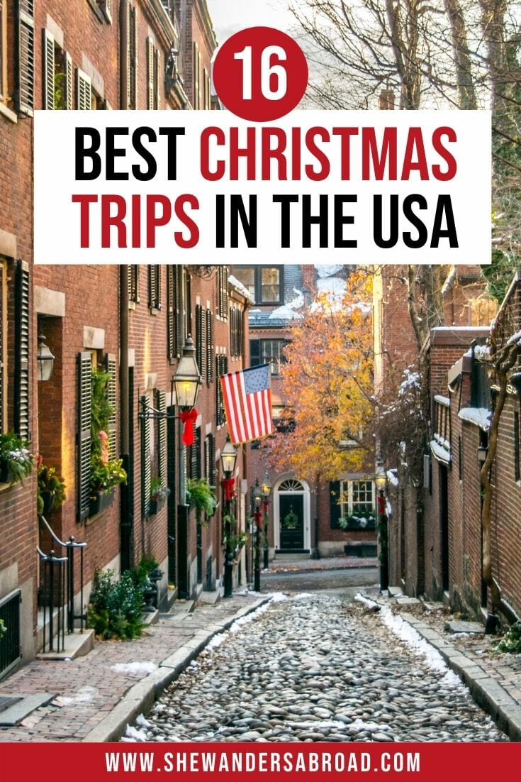 Best Christmas vacations in the USA