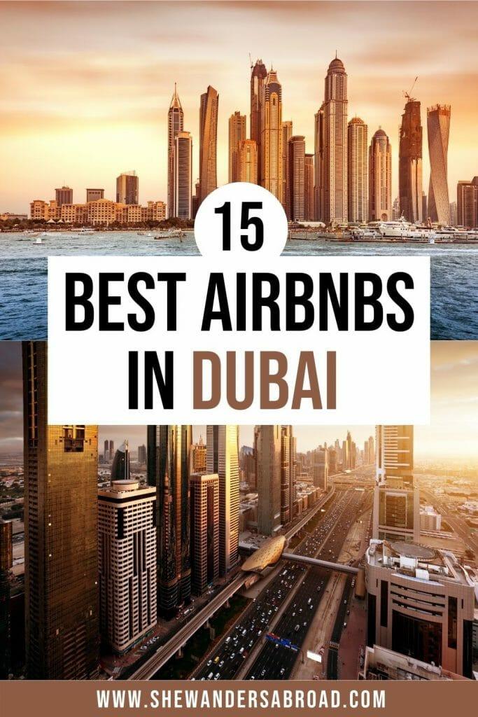 Best Airbnbs in Dubai