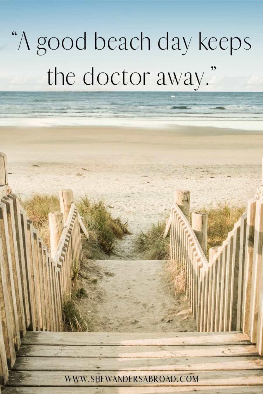 Cute beach captions for Instagram