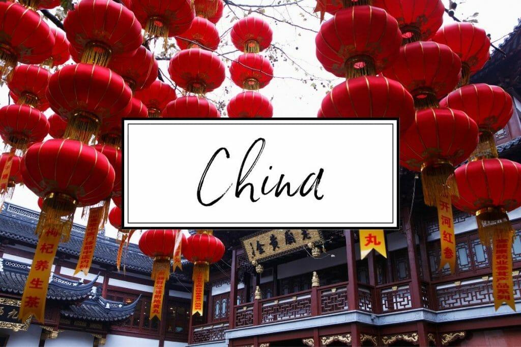 China, Asia