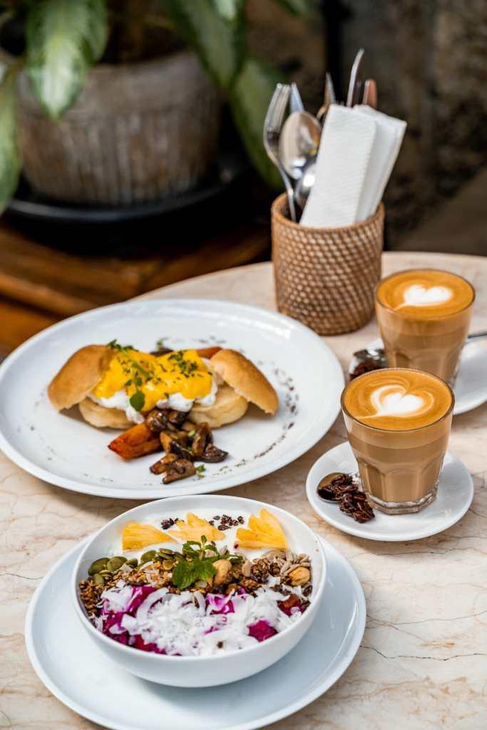 Breakfast at Lazy Cats Cafe Ubud