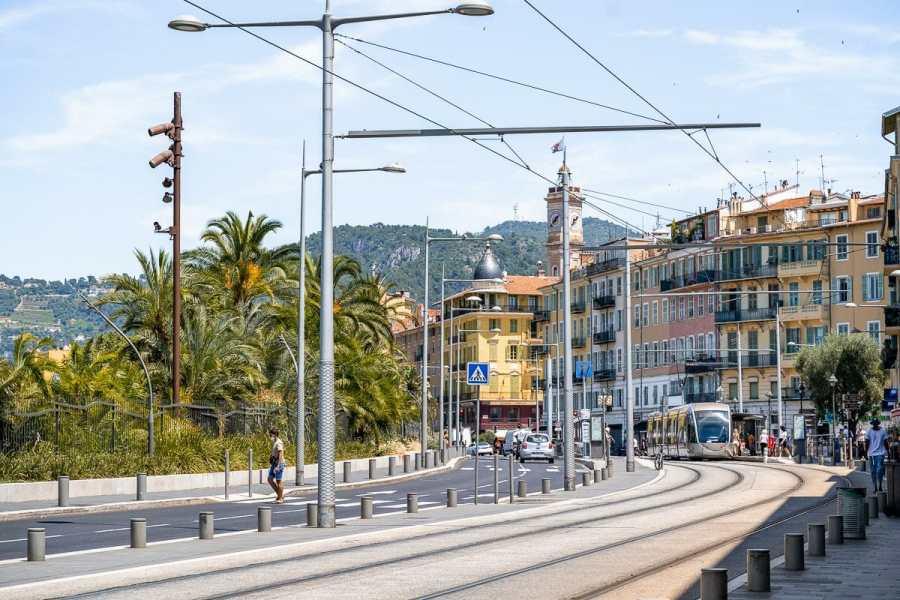 Main street in Nice, France