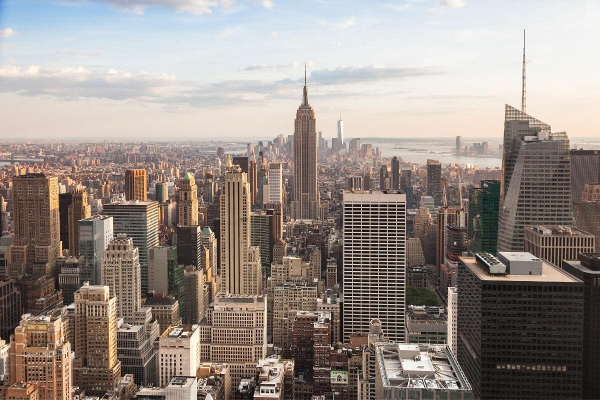 New York City Skyline with Empire State Building