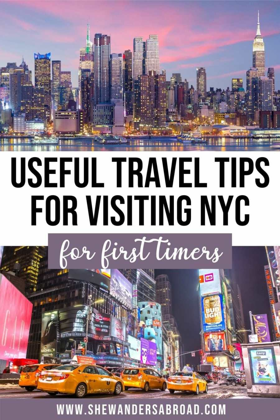 Best Travel Tips for NYC
