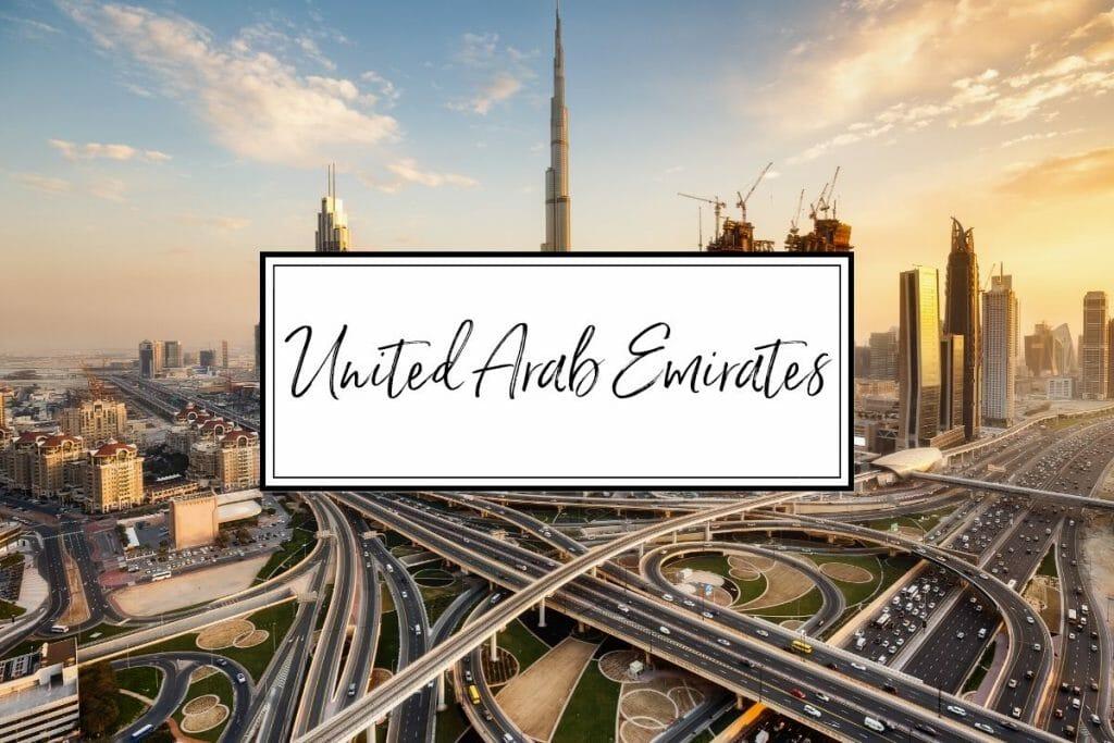 United Arab Emirates, Middle East