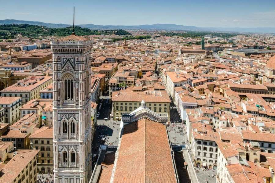 View from the Duomo in Florence, Italy