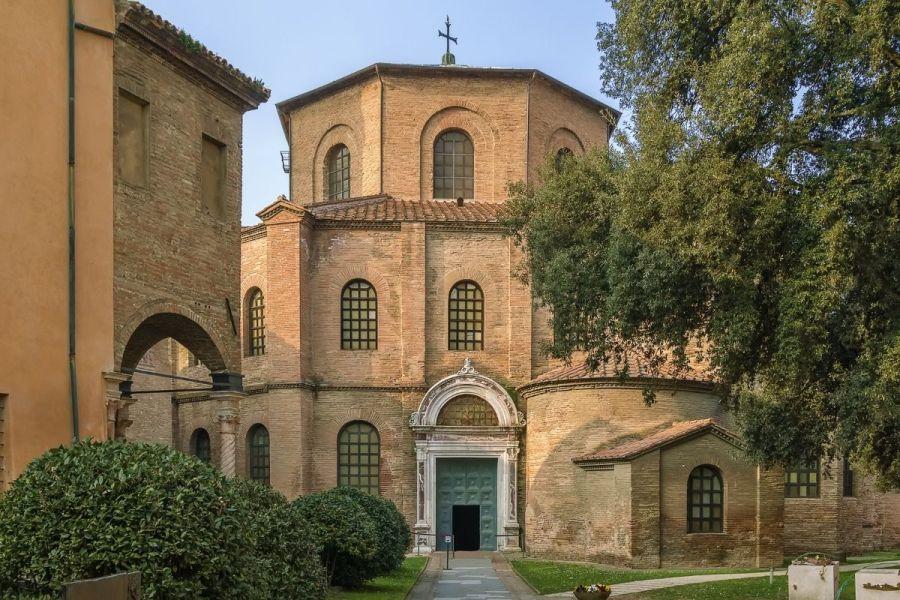 Basilica of San Vitale in Ravenna, Italy
