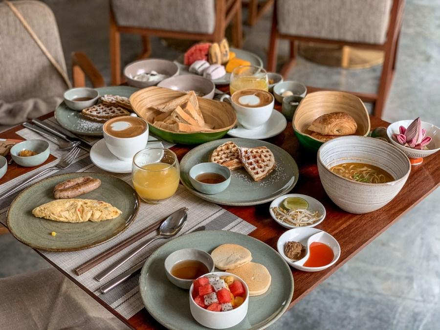Breakfast at Templation Siem Reap