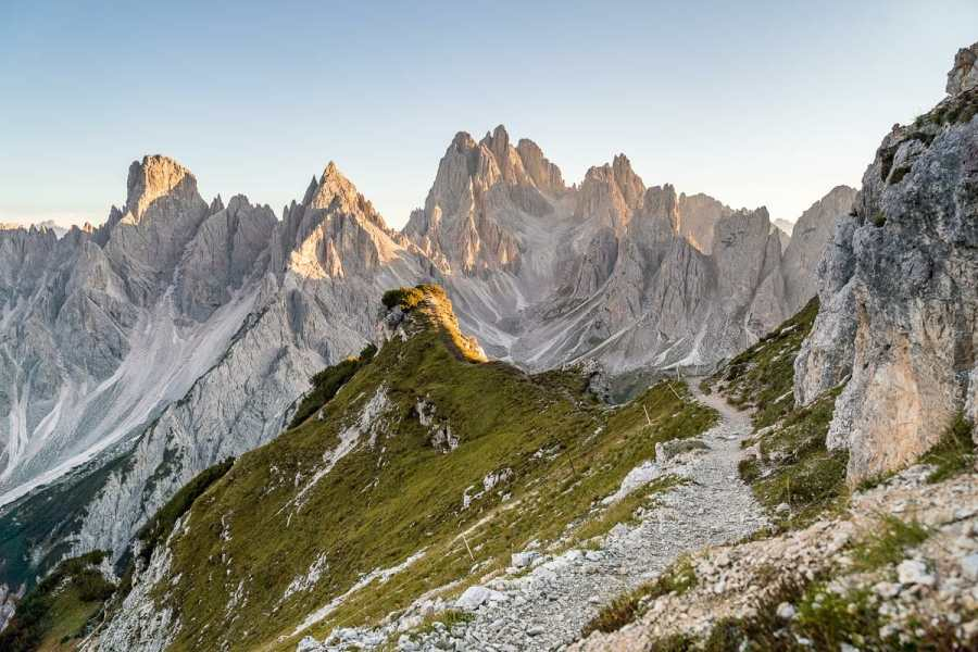 Hiking to Cadini di Misurina is a must do on every Dolomites road trip itinerary