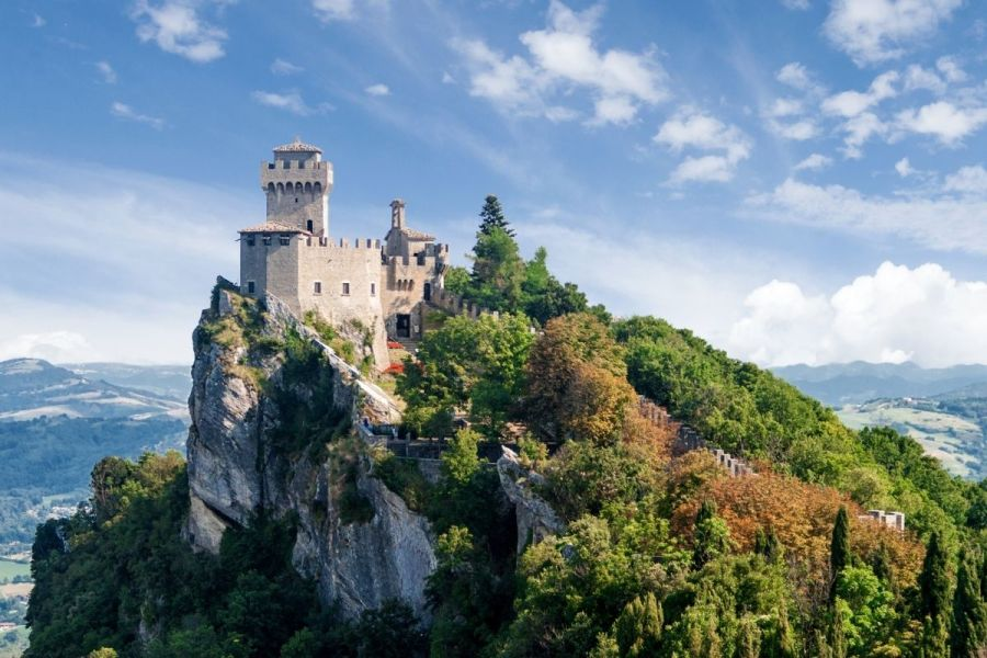 Cesta Tower in San Marino