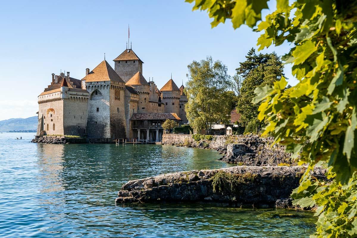 Chillon Castle in Switzerland