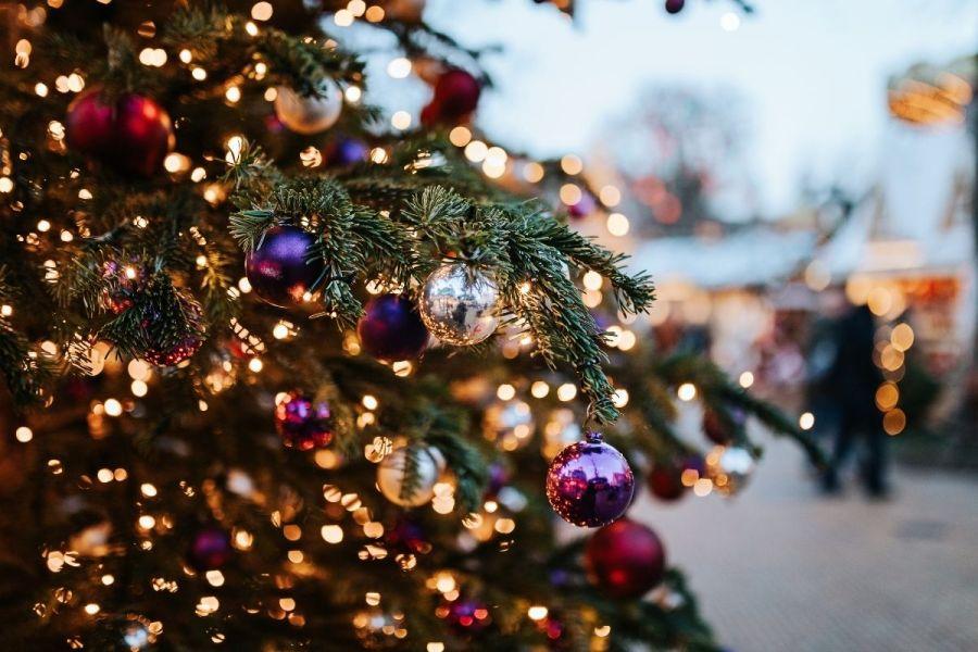 Christmas tree in Copenhagen, Denmark