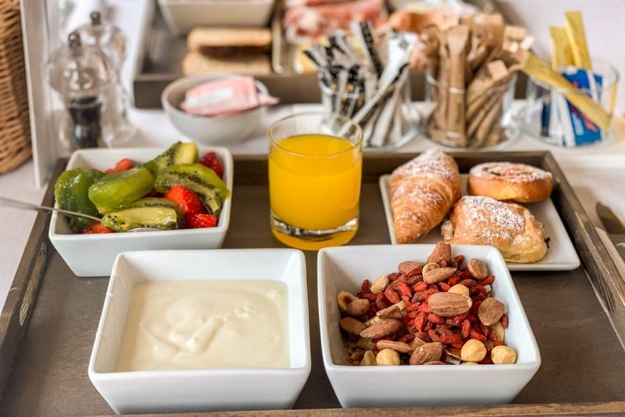 Breakfast at Grand Hotel Fasano