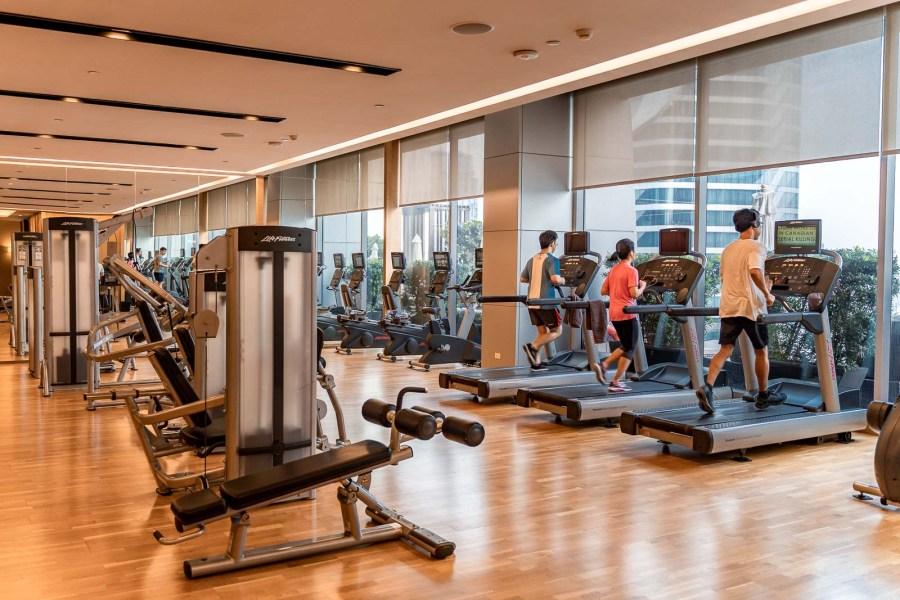 Gym at The Okura Prestige Bangkok