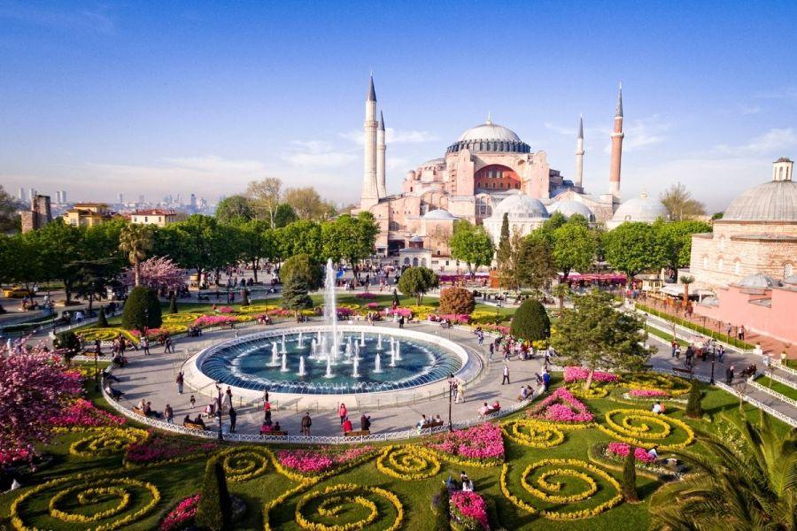 Hagia Sophia in Instanbul, Turkey