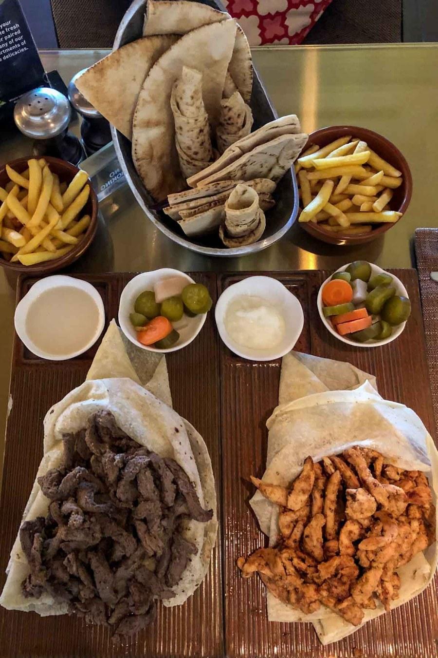 Lunch at the Hilton Dead Sea Resort & Spa