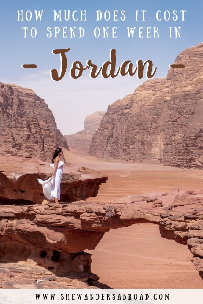 How Much Does it Cost to Spend One Week in Jordan