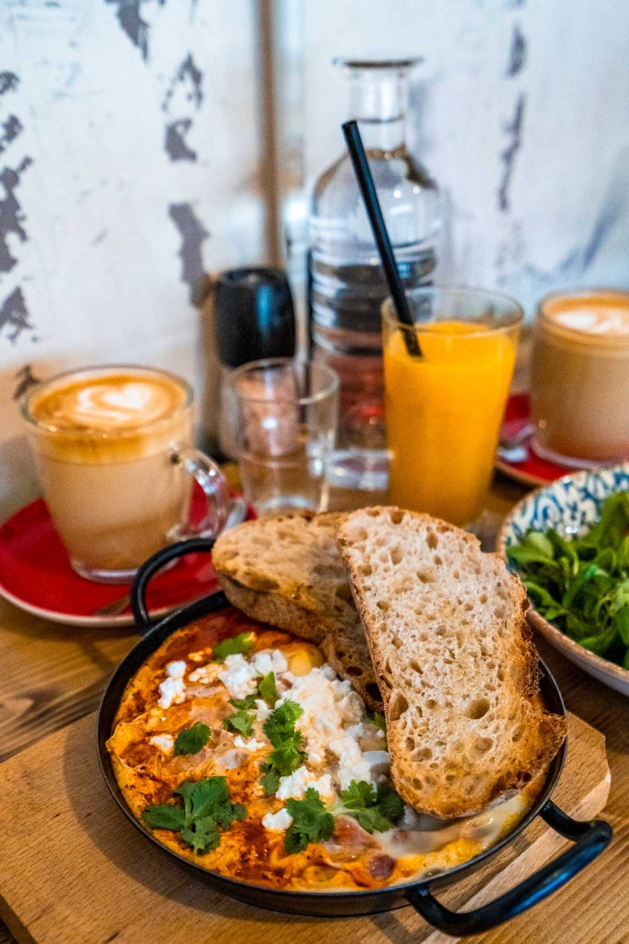 Breakfast at London Coffee Society in Budapest