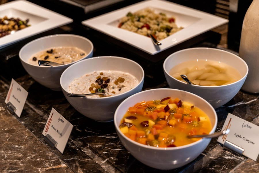 Breakfast at The Okura Prestige Bangkok
