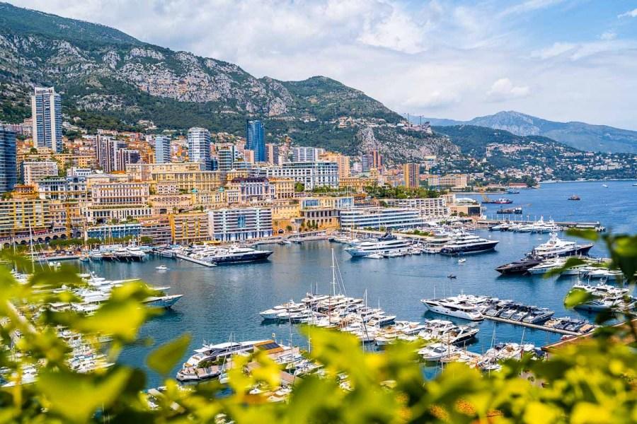 Port Hercules in Monaco
