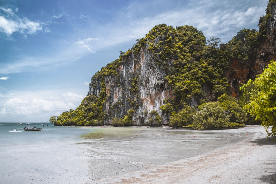 Railay Beach is one of the most beautiful beaches in Thailand