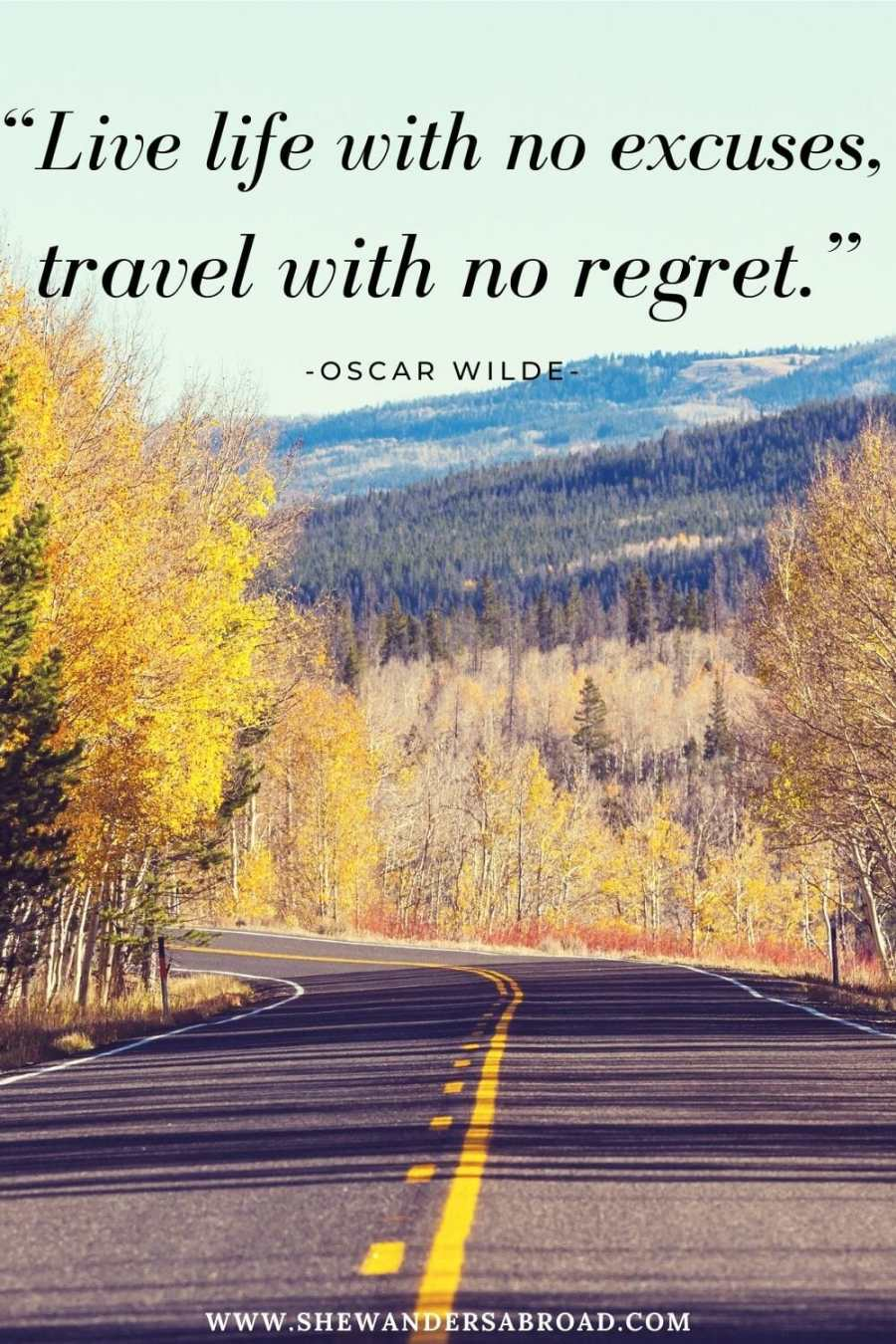 Inspirational road trip quotes