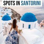 Best Santorini Instagram Spots