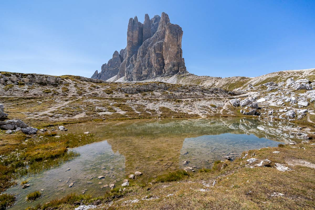 Tre Cime di Lavaredo Hike in the Dolomites Italy