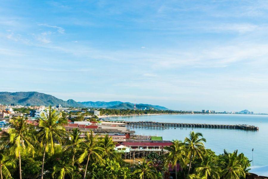 View of Hua Hin, Thailand