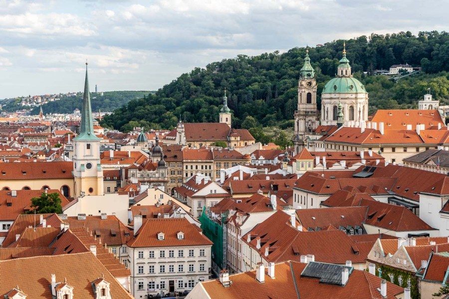 View of the Old Town in Prague