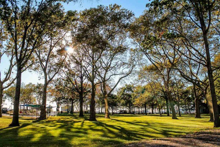 Battery Park in New York City