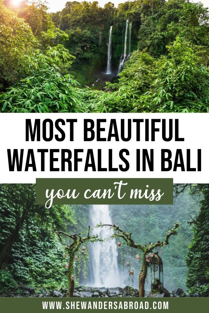 Top 13 Best waterfalls in Bali You Can't Miss