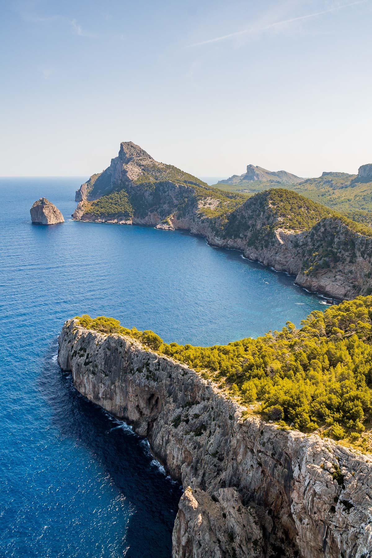 Mirador Es Colomer Viewpoint in Mallorca