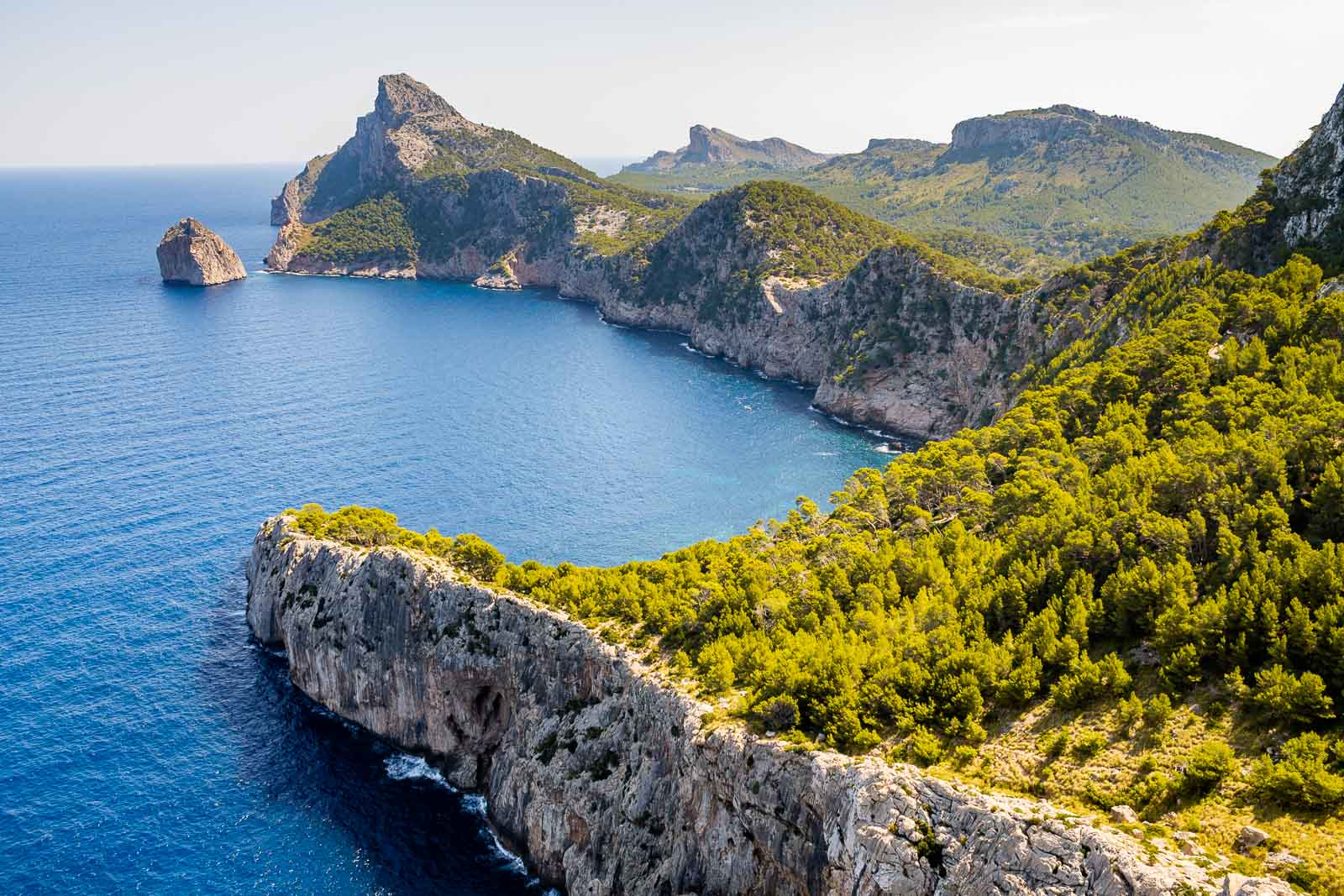 Mirador Es Colomer viewpoint that you need to see on your Mallorca road trip