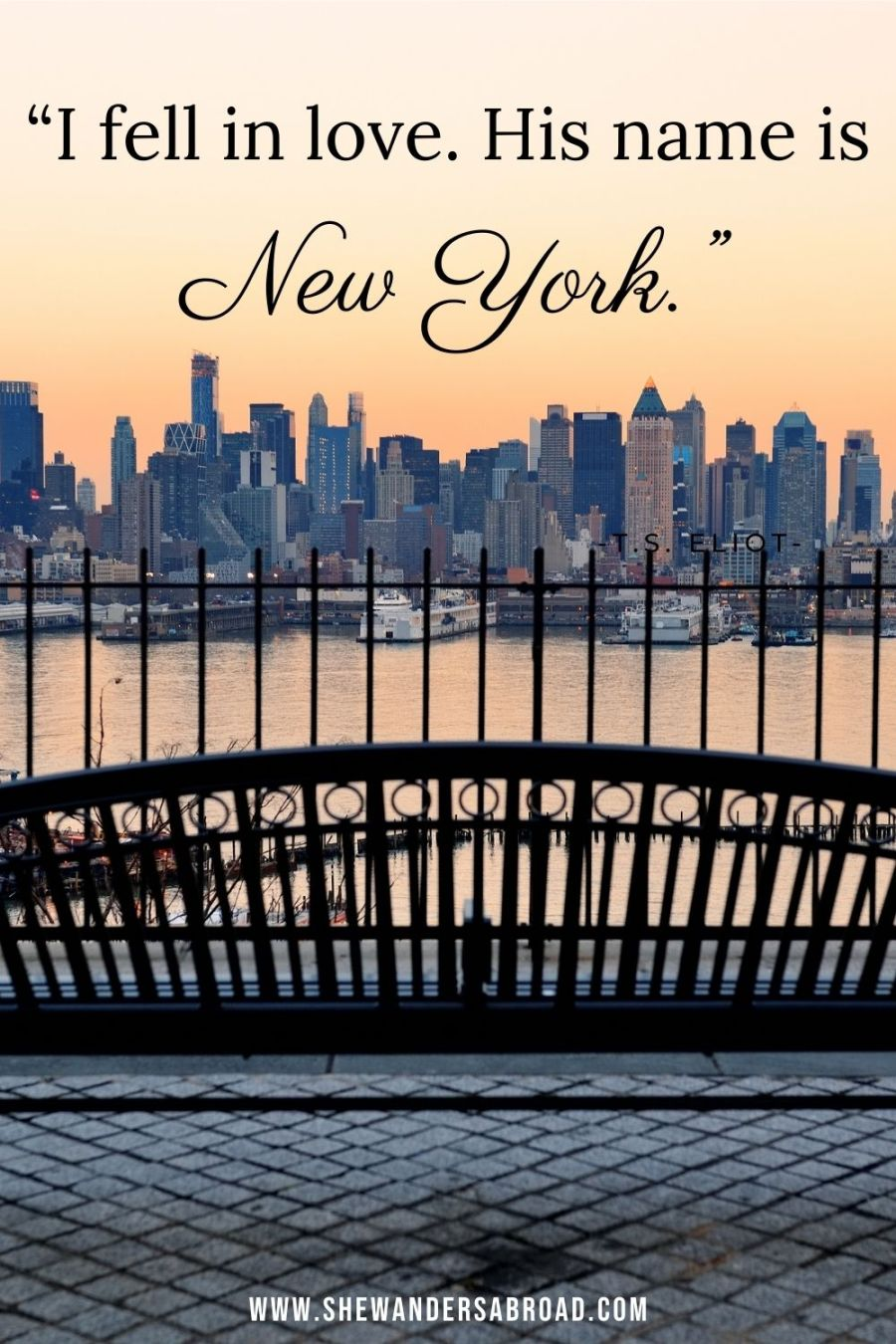 Romantic New York love quotes