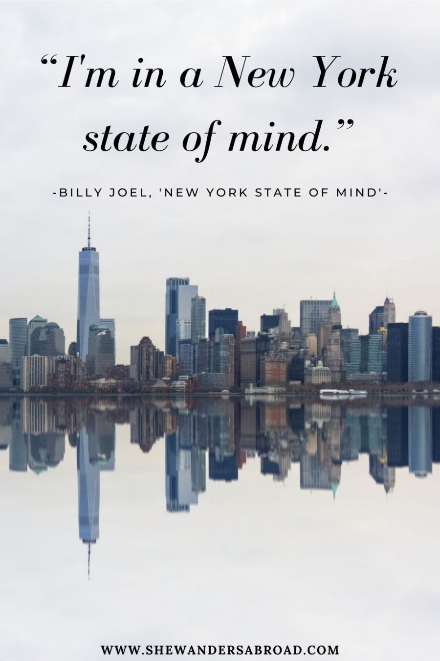 Inspirational New York lyrics